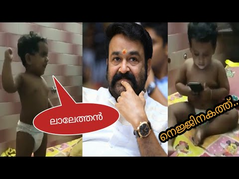 Lal anthem | 1 year old boy also a mohanlal fan | Queen malayalam movie song