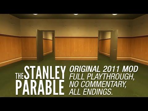 The Stanley Parable (full playthrough & all endings)