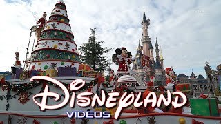 Parade Noël/Christmas 2017 Disneyland Paris