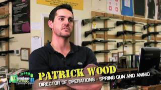 Spring Guns & Ammo Video Testimonial - Advantage LED Signs