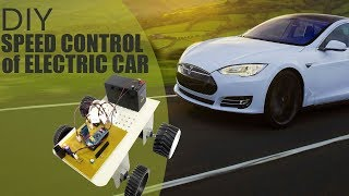 DIY Accurate Speed Control of Electric Car Using ARM LPC2148 Electronics Project
