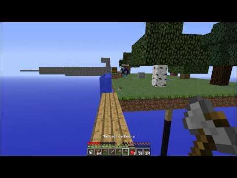 Minecraft - Desafio dos 4 Pilares #2 ft. TROVAOJ10, ft. Bobolgan