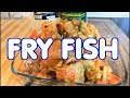 FRY FISH SUNDAY DINNER RECIPE HOWTO SEASONING IT !!
