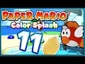 PAPER MARIO: COLOR SPLASH Part 11: Die Azurbucht