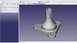 FreeCAD Mechanical drawing H22A