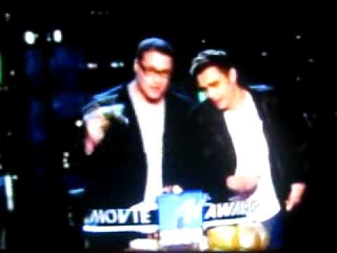 James Franco & Seth Rogen 'smoking weed' at MTV Movie Awards /June1, 2008