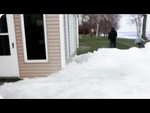 HORROR: Glaciers Attack Houses | Amazing Nature Ice Sheets Video