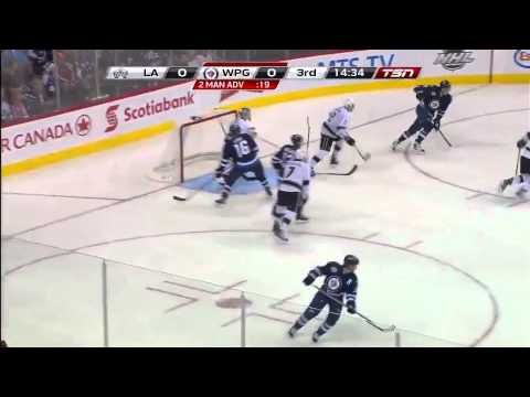 Winnipeg Jets vs Los Angeles Kings Highlights 12/29/11