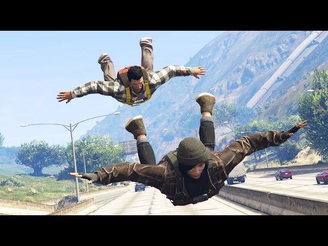 NEW: FLYING UNLIMITED ON GTA 5 ONLINE (16 PLAYERS)