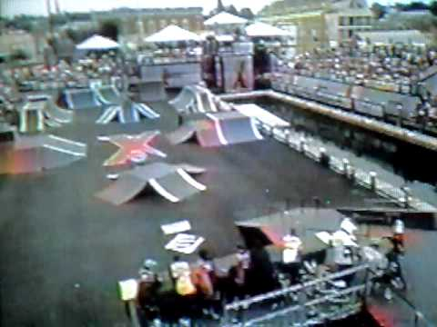 jay miron bmx street prelim run #2 , 1996 xgames 2 Video