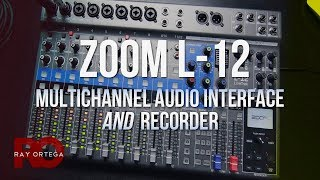 Zoom L-12 Review & Setup - Audio Interface and Recorder!