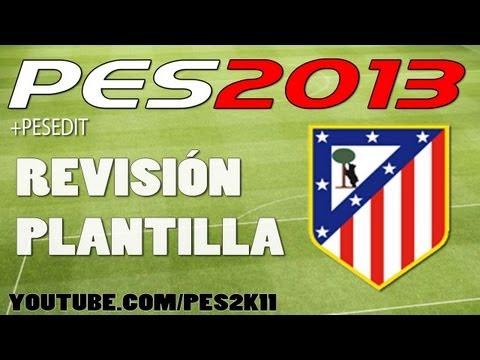 Atlético Madrid PES Stats / Revisión de Plantilla / Habilidades