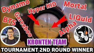 Kronten Team Vs Dynamo, Soul Mortal, LiQuid, BTS, Gareeboo, Alpha ClasherYoutube Tournament Final