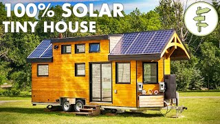 Super High Tech Off-Grid Tiny House for Sustainable Living | Net Zero Energy Home