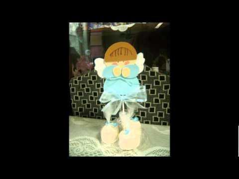 Como hacer angeles con masmelos - Imagui
