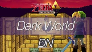 Dark World 8-bit Cover - The Legend of Zelda: A Link to the Past