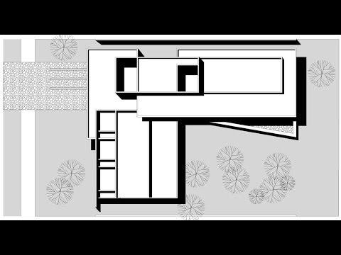 Planos de casa en forma de l youtube for Casa de dos plantas construyehogar