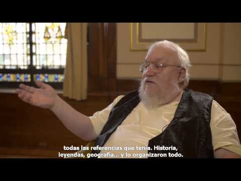 George R. R. Martin habla de The World of Ice and Fire