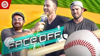 Dude Perfect VS. Kris Bryant & Mike Moustakas | Home Run Derby FACEOFF
