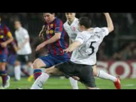 BARCELONA VS ARSENAL- CHAMPIONS LEAGUE KNOCKOUT STAGES