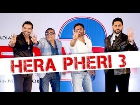 Hera Pheri 3 FIRST LOOK   John Abraham, Abhishek Bachchan, Paresh Rawal, Suniel Shetty