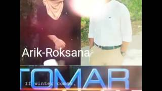 Tomar Amar by Arik & Roksana | new bangla song 2016 | (original track by Tahsan n Mithila)