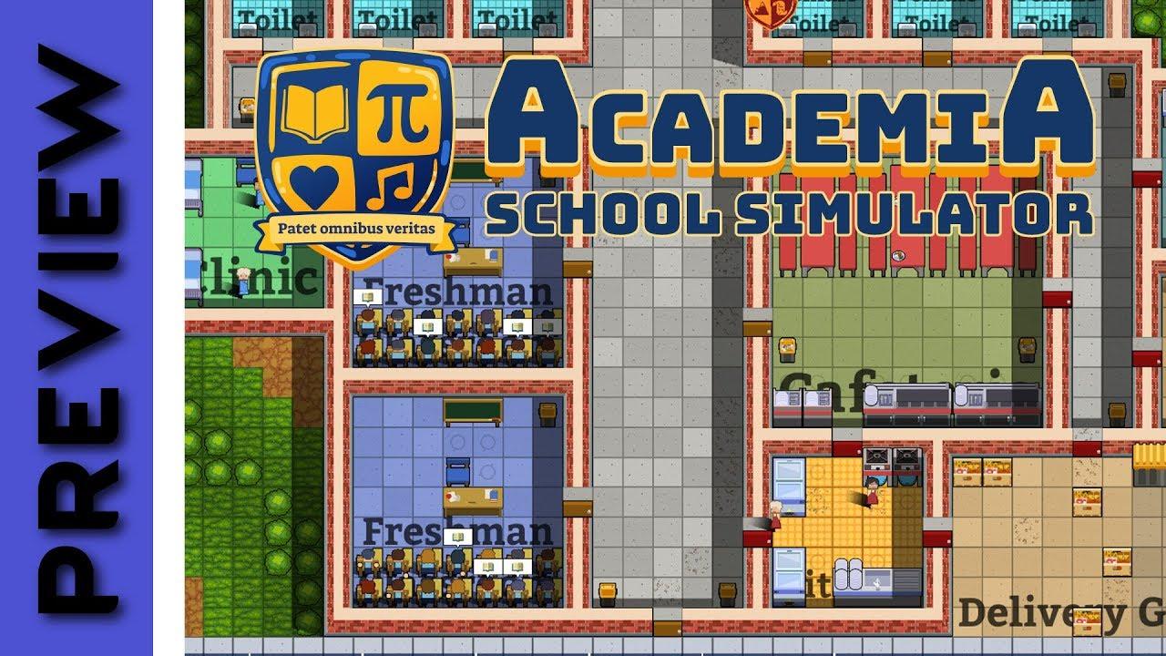 academia school simulator free download