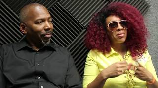 The Morning Mixtape Hosts: Mike Love and Lady Red on  106.3 FM