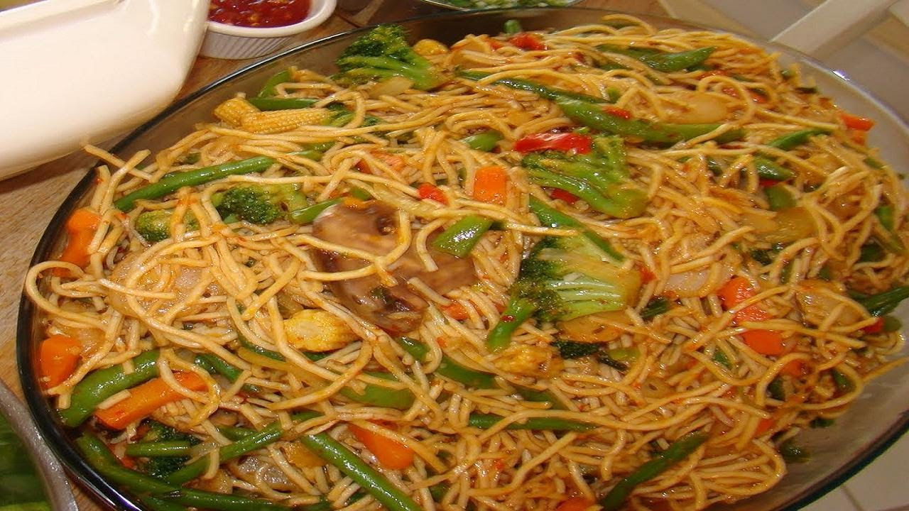 Chinese Food Recipes With Chicken And Noodles