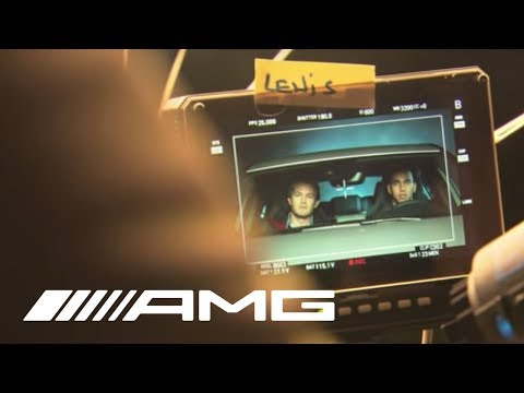 "Making of A 45 AMG TV Commercial ""Apparition"""