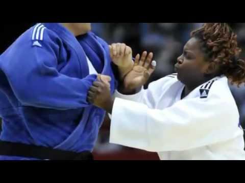 Ortiz of Cuba Won Gold in Womens Heavyweight Judo London Olympics, 2012