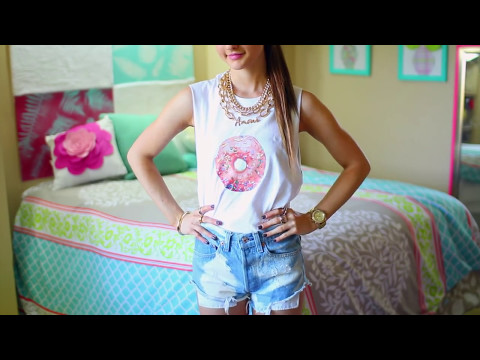 DIY T-Shirt Ideas Inspired By Tumblr   Easy & Cute Tumblr Shirts