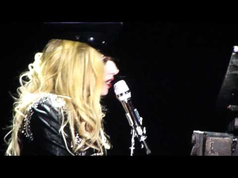 Lady GaGa - Born This Way (acoustic) - Cleveland OH  04272011...