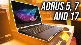 New Budget Aorus Gaming Laptops + X9 Replacement (Aorus 17)
