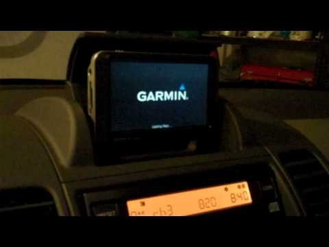 2005-2008 Nissan Xterra Garmin Nuvi GPS Docking Station Review Video