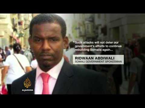 Al-Shabab attacks Somali parliament complex