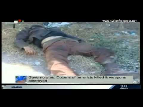 Syria News 17/12/2014, Losses inflicted on terrorists in several governorates