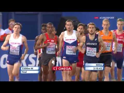 1500m Men's Final - European Athletics Championships 2016