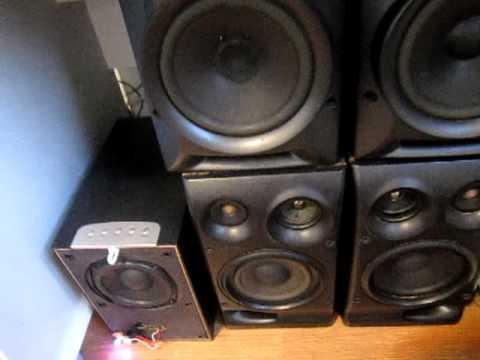 """Sony e Lenoxx = 720WRMS tocando """"VOX SOUND ALTO FALANTES""""! Especial para o 1610gui"""