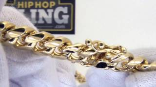 10MM Miami Cuban Chain | 3x Gold Wrapped | Triple Lock Clasp