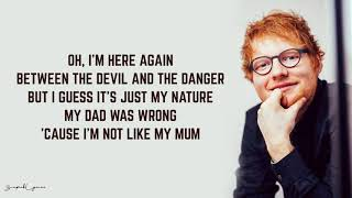 Download Lagu Ed Sheeran - Save Myself (Lyrics) Gratis STAFABAND