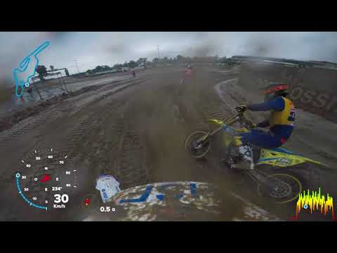 First GoPro Lap with Brian BOGERS   MXGP of The Netherlands 2017    Motocross