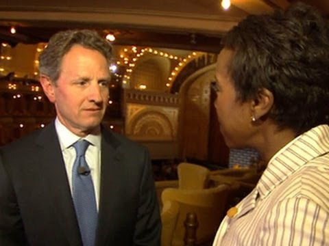 Timothy Geithner: The '08 financial crash was
