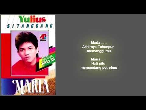 Julius Sitanggang - Maria (lirik)