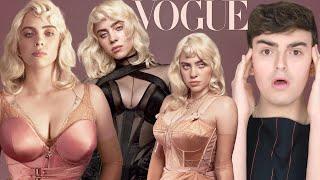 """cover album Addressing Billie Eilish's """"Revealing"""" Vogue Cover"""