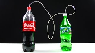 Coca Cola OUT of Bubbles ? How to ReCarbonate Coca Cola or make any soda drink in 5 Minutes