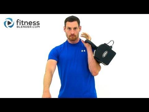 15 Minute Kettlebell Workout Video - 1X10 Kettlebell Burnout