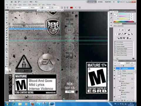 Как в фотошоп сделать обложку для диска - Ремонт СПБ