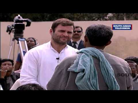 Rahul Gandhi Funny Moments With Rickshaw Pullers In Varanasi video
