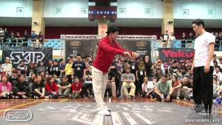 Popping Best8-1 Pop Yu vs Hoan | 20140302 OBS Vol.8